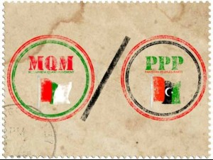 Lyari, it appears, is no longer only a battlefield for the people of the Kutchi and Baloch community who reside in the area, but also for Sindh's two mainstream political parties, the Pakistan Peoples Party and Muttahida Qaumi Movement - only theirs is a war of words. . PHOTO: FILE
